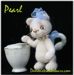 ~Pearl~ By Demonstrative Bears and Friends by cindysickler, via Flickr