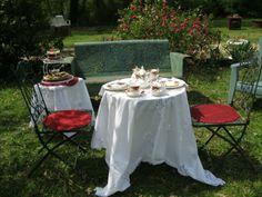 Tea in the garden..