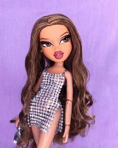 stuff aes vids, fashion on Inst - Cute Profile Pictures, Cartoon Profile Pictures, Cartoon Pics, Girl Cartoon, Bratz Doll Makeup, Bratz Doll Outfits, Bad Girl Aesthetic, Purple Aesthetic, Vintage Cartoon