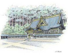 John S. Taylor, Toshogu Shrine, Nikko