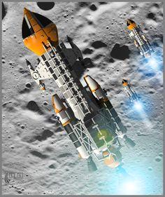 Lunar Excercises by Arcas-Art.deviantart.com on @deviantART