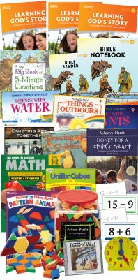 My Father's World Homeschool Curriculum - First Grade Deluxe Package $261...Look more into this, but it gets good reviews on homeschooling websites