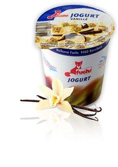 Produktewelt Molkerei Fuchs Molkerei Fuchs aus Rorschach - Familienunternehmen… Oatmeal, Breakfast, Food, Vanilla, Fox, Things To Do, The Oatmeal, Rolled Oats, Hoods