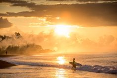 Surfer by Hennings