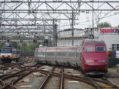 Thalys at Amsterdam Central 2015