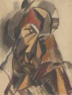 """picasso's head   Pablo Picasso, """"Head of a Woman,"""" 1909. The Art Institute of ..."""