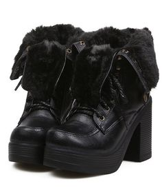 Casual Style Chunky heels Warm Ankle Boots--Click the picture can place an order,we support wholesale Korean clothes. #shoes #wholesale #fashion #lovely #cheap #Korean #dress #sexy
