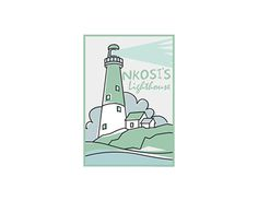 Working On Myself, New Work, Lighthouse, Logo Design, Behance, Logos, Gallery, Check, Bell Rock Lighthouse