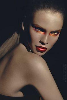 She's so fierce! Love the makeup