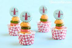 Drunken Gummies:  Liquor Soaked Burger Gummies  by 1 Fine Cookie