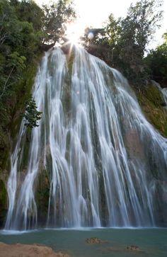 La Cascada in the Las Terrenas, Dominican Republic.  Amazing there!