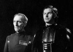 Peter Cushing & David Prowse