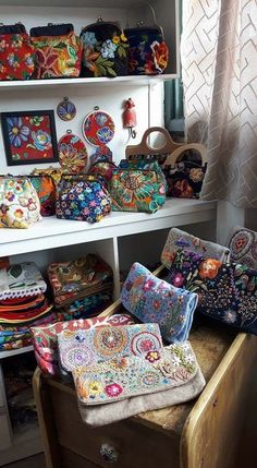 Best 12 This cute soft fabric pouch is made from a traditional qui – SkillOfKing. Embroidery Bags, Beaded Embroidery, Embroidery Stitches, Patchwork Bags, Quilted Bag, Potli Bags, Fabric Bags, Handmade Bags, Soft Fabrics