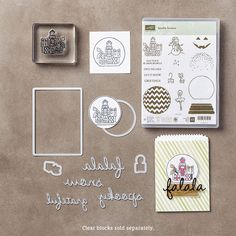 Sparkly Seasons Photopolymer Bundle by Stampin' Up!