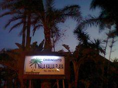 Chiringuito on the beach - deliciousSangria!