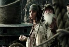 Handsome looking guy: Also in the trailer is the young Jack Sparrow, who is the source of Captain Salazar's rage