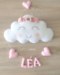 Baby Bedroom Girls Bedroom Felt Crafts Baby Crafts Baby Decor Felt Decorations Bridal Shower Decorations Photographing Babies New Baby Gifts Baby Crafts, Felt Crafts, Diy And Crafts, Crafts For Kids, Baby Sewing Projects, Sewing Crafts, Diy Bebe, Baby Shawer, Cute Paintings