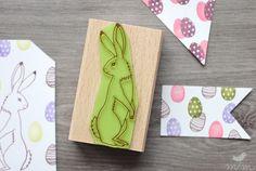 Tiere - Stempel 4er Set ❘ Osterhasen Fest ❘ marga.marina - ein Designerstück von margamarina bei DaWanda