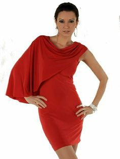red wine celebrity strapless one shoulder batwing mini dress or top evening cocktail club size 8, 10, 12 slim bandage pencil outfit party wear Unknown, http://www.amazon.co.uk/dp/B004PS47FC/ref=cm_sw_r_pi_dp_Tla0sb1XT8REE