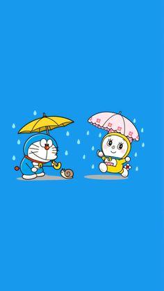Wallpaper Background Design, Pop Art Wallpaper, Cute Wallpaper Backgrounds, Galaxy Wallpaper, Mobile Cartoon, Doremon Cartoon, Iphone Cartoon, Doraemon Wallpapers, Hd Anime Wallpapers