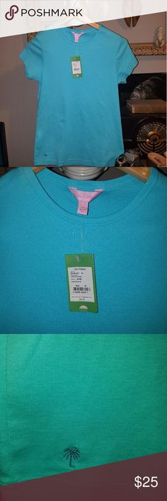 Lilly Pulitzer tshirt NWT Lilly Pulitzer tshirt super soft and very well made Lilly Pulitzer Tops Tees - Short Sleeve