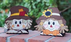 Paper Creations by Kristin: Scarecrow Gift Boxes