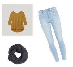 """Untitled #15"" by kcandkc on Polyvore featuring LOFT, Paige Denim and Frenchi"