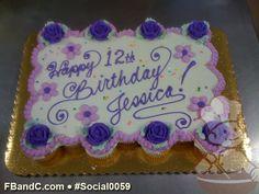 Purple Roses Pull Apart Cupcake Cake Rachel Lucius