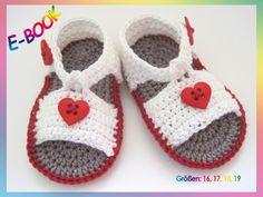 Die 10 Besten Bilder Von Baby Sandalen Häkeln Crochet Sandals