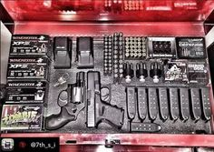 Find dirt cheap prices on gun safes, gun cabinets and hidden gun storage from top brands like Winchester, Hornady and more in stock and ready to ship! Ammo Storage, Weapon Storage, Weapons Guns, Guns And Ammo, Hidden Gun, Gun Cases, Custom Guns, Military Guns, Cool Guns