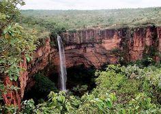 Cachoeira Véu de Noiva  -  Parque Nacional Chapada dos Guimarães