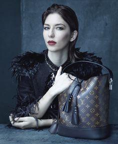 Sofia Coppola for Louis Vuitton's Spring 2014 campaign.