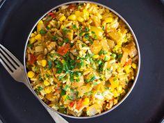 Vegan and Plant Based Recipes 🌱 - Fry's Family Food Vegan Curry, Chickpea Curry, Veggie Meals, Veggie Recipes, Cranberry Jam, Tempura Batter, Plant Based Recipes, Family Meals, Fries