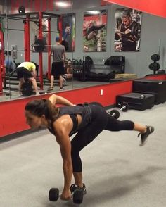 Killer Leg circuit  Exercise 1: triple alternating side lunges and sumos! 10 total times though!  Exercise 2: heels up squats with a pulse 15 reps  Exercise 3: reverse lunge to pistol (use TRX to assist pistol if needed 10 each leg Exercise 4: hand switch single leg hinge 10 passes each arm!  4 rounds!  See SNAPCHAT for the rest of my workout: lex_clark  Twitter for my written circuits: @_alexiaclark  Pinterest for all my favorite recipes, beauty products and more: Pinterest.com/alexi...