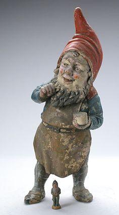 antique garden gnome - Google Search