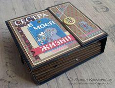 Скрапинки от Машуки: Мини-МК мини-альбома)))) Со схемами...