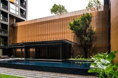 Courtyard Pavilion The Height Phuket Condominium by Sansiri Architecture and Landscape design by Openbox Architects