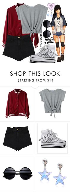 """Kageyama was here"" by raging-pancakes ❤ liked on Polyvore featuring Tarina Tarantino"
