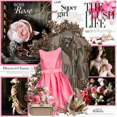 """""""Bois de rose"""" by amaryllis ❤ liked on Polyvore"""
