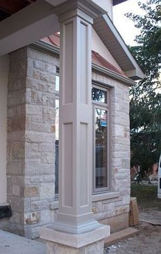 1000 images about decor columns on pinterest columns for Exterior decorative columns