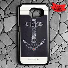 Anchor Typograph One Samsung Galaxy S7 Black Case