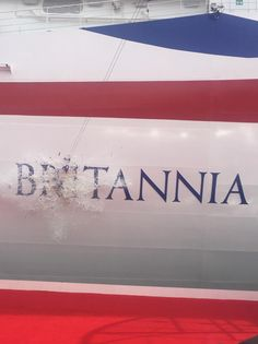 P&O Cruises @pandocruises And it's official! #Britannia