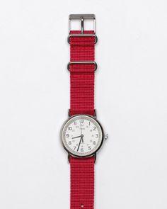 Timex Weekender In Fuschia