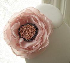 fabric flower corsage