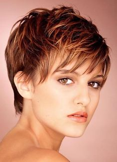 Long Pixie Cut | When I came back from the hairdresser, my mom was delighted of the ...