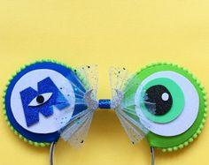 Monsters Inc, Mike Wazowski Inspired Disney Mouse Ears