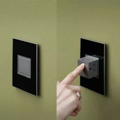 Pop out wall outlet All it needs it the built in USB ports