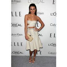 Lea Michele in Calvin Klein