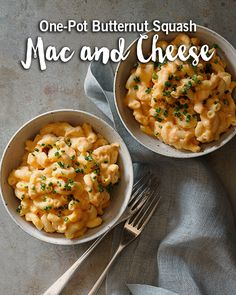 Mac and Cheese AND a one pot recipe? Yes, please!
