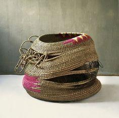 Bonakele's Biography Basket  #interwoven #habitat #handcraft #swaziland #basket #weaving #woven #africa